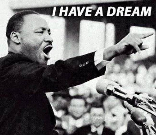 martin luther king great dream In the famous speech given on august 28, 1963, martin luther king, jr talks about the great american he is talking about abraham lincoln he refers in his speech to the fact that lincoln was the .