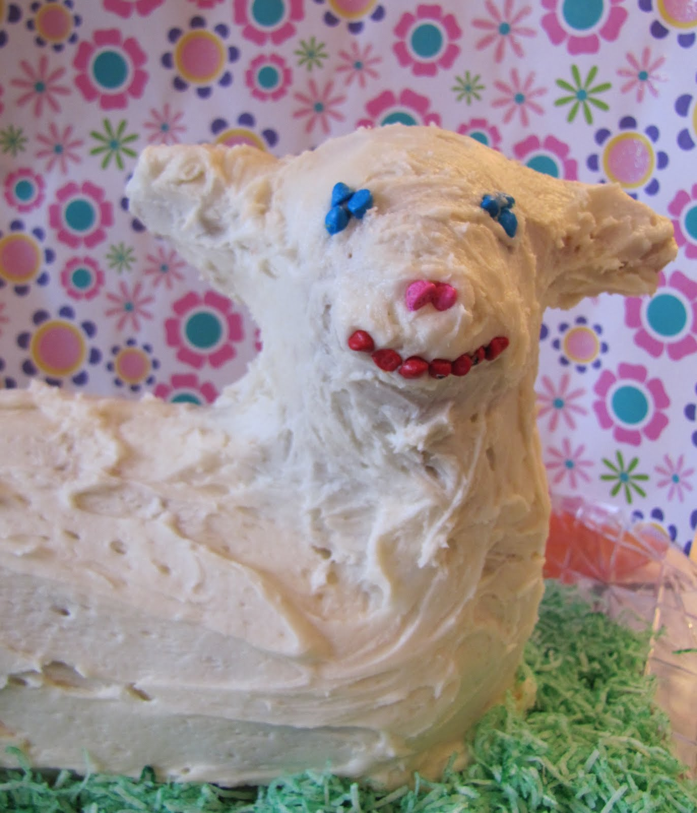 Adventures in Food: Easter Lamb Almond Pound Cake