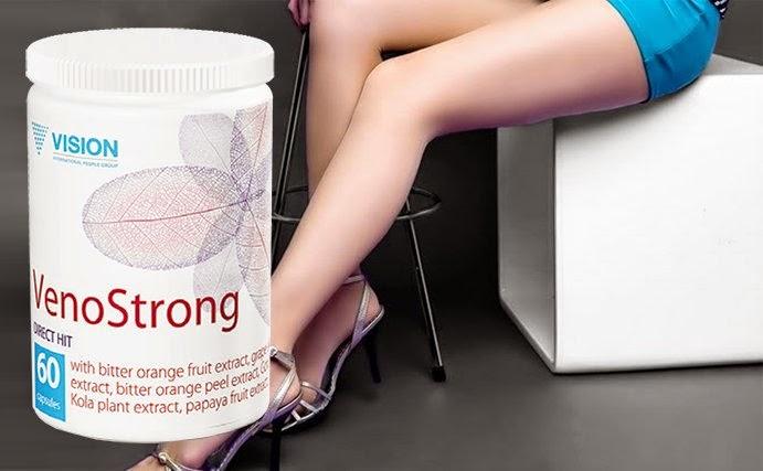 tác dụng thực phẩm chức năng VenoStrong Vision hệ tĩnh mạch khỏe mạnh