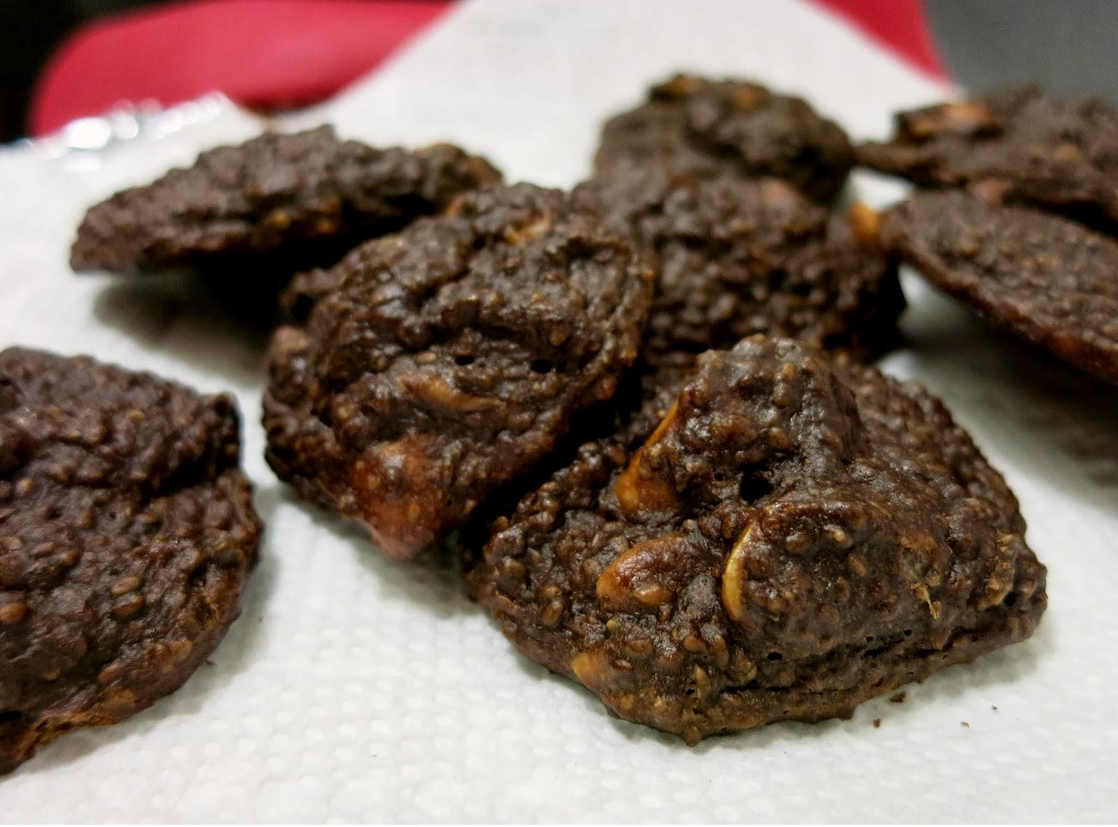 Chocolate Chia Cookies