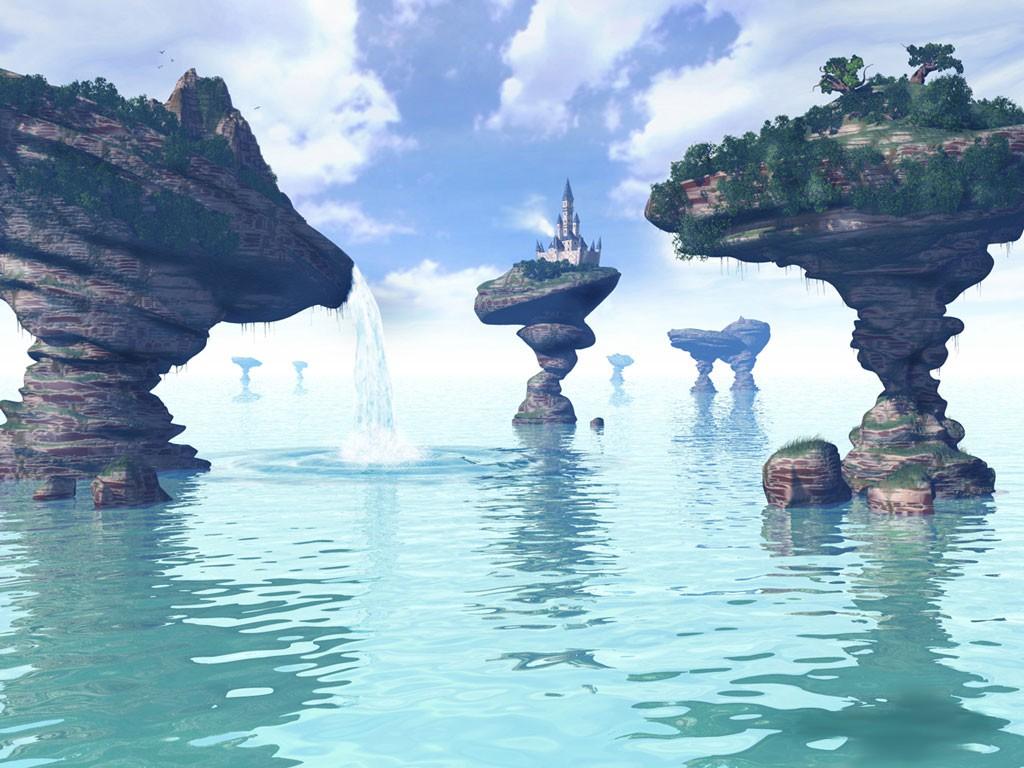 3D Castle Paradise 171 - Beauty O'v NaTuRe ....... !!!!!!!!
