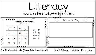 https://www.teacherspayteachers.com/Product/Australia-Day-Pack-for-Early-Years-1040864