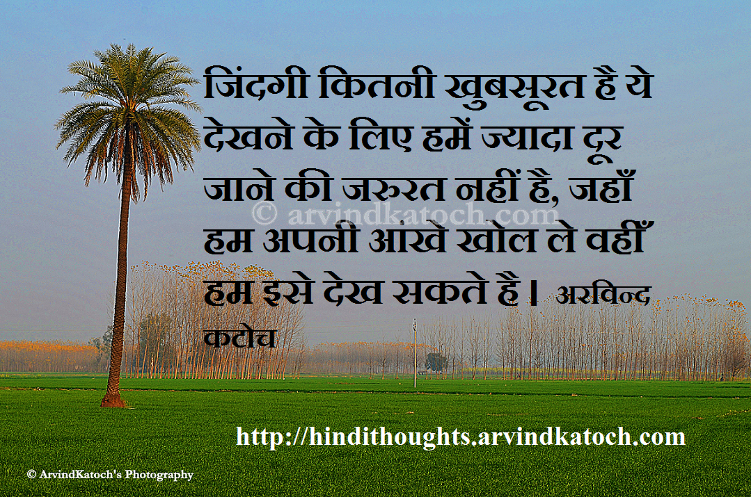 Hindi Thought HD Picture Message  Wallpaper  on Life    Thoughts On Life In Hindi Wallpaper