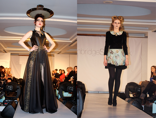 Cambridge Style Week gothic student designs