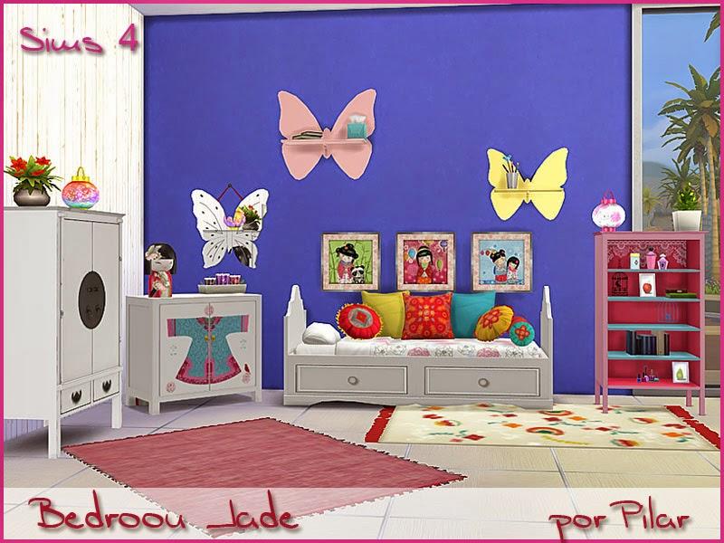 31-10-2014  Sims 4 Bedroom Jade