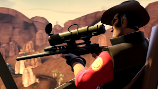 Team Fortress HD Sniper Wallpaper