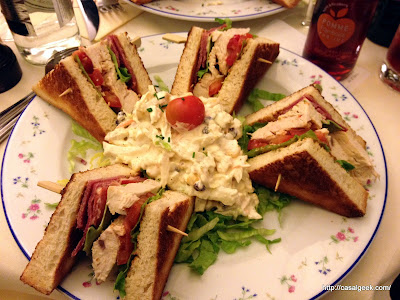 Carette - Club-Sandwich au Poulet