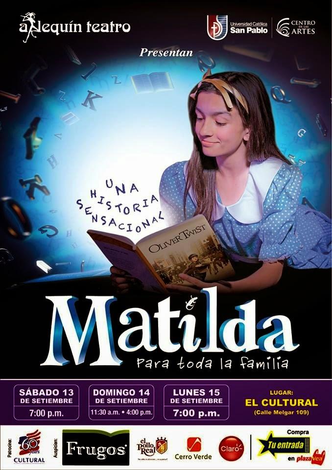 Matilda, Teatro Arequipa