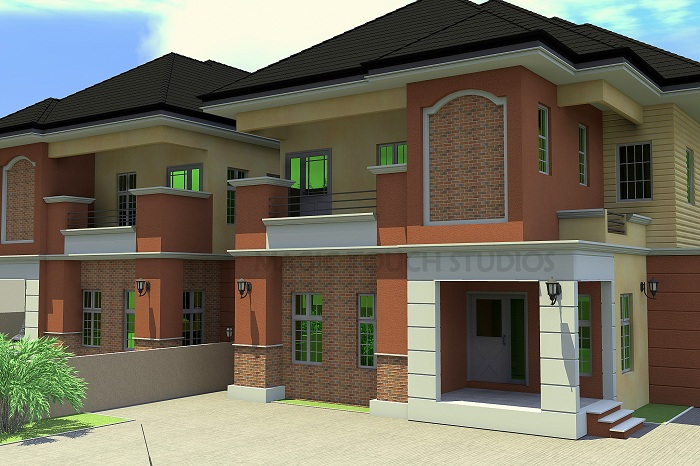 4 Bedroom Semi Detached Duplex Residential Homes And