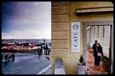 Pocztówka z Pragi. Hradczany. fot. Łukasz Cyrus, Ruda Śląska.