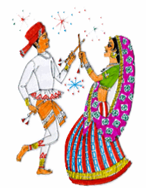 Navaratri dandi Greetings Wallpapers