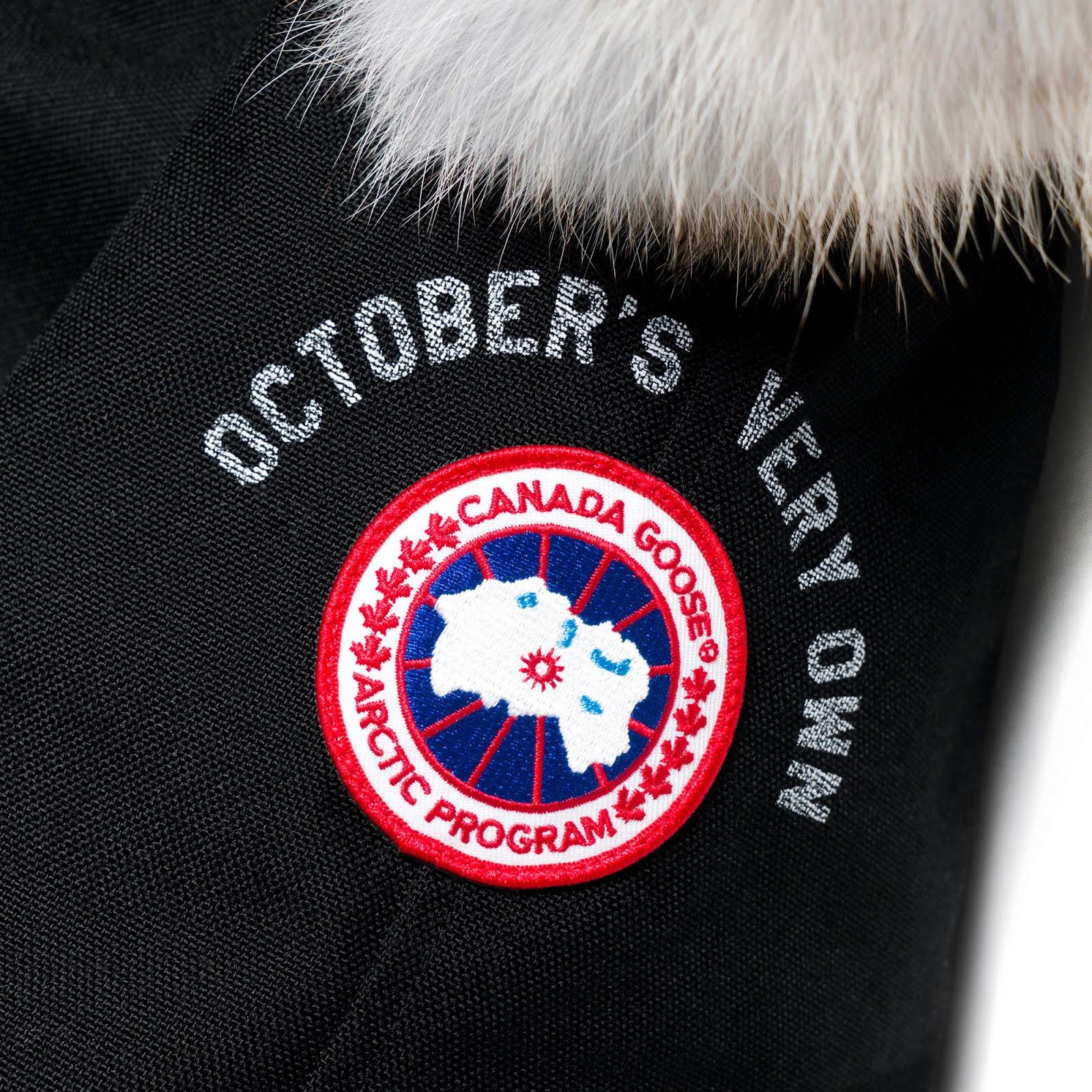 Canada Goose Jakke Uden Mærke På Armen