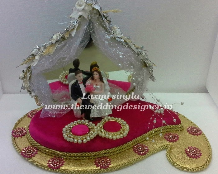Indian Wedding Ring Trays Pictures