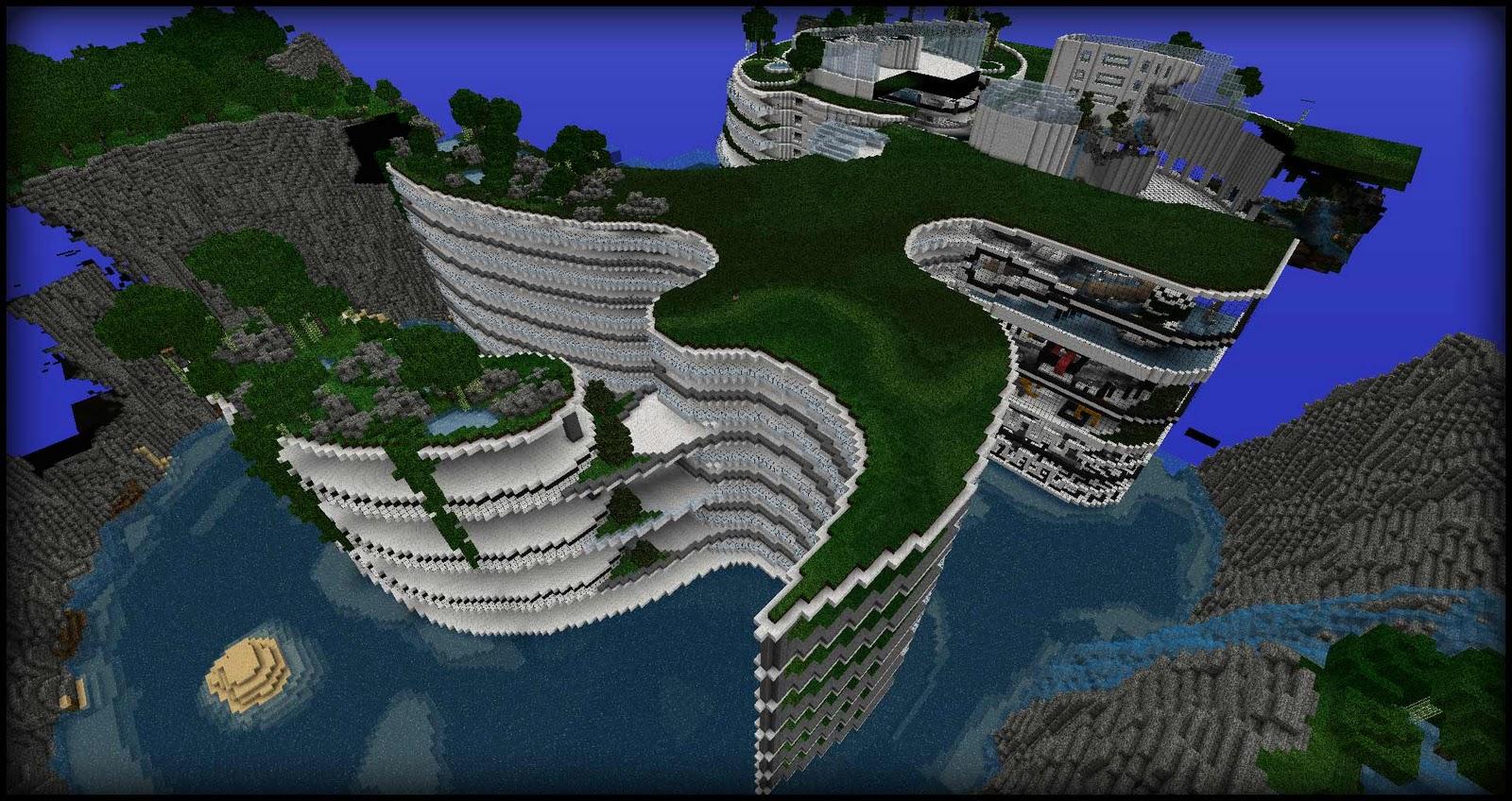 Modern Architecture Minecraft the hesperides' shelter ~ modern architecture - screenshots - show