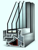 Okno PCV - aluminiowe KF500 Internorm pasywne