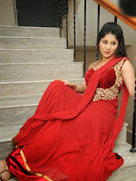 Ziya Khan Glamorous Photos in Red-cover-photo