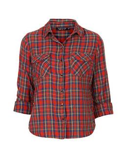 tartan shirt topshop