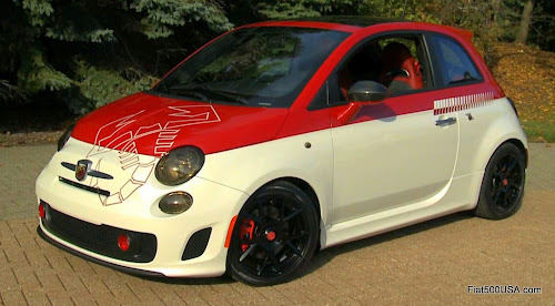 2015 Fiat 500 Abarth Scorpion