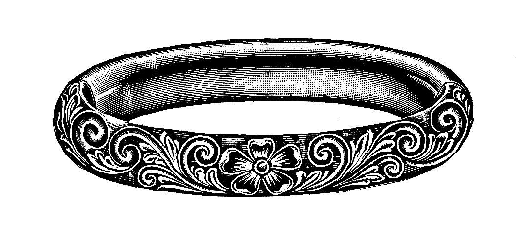 Line Art Earrings : Digital stamp design free jewelry vintage