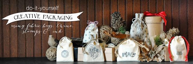 Creative Bag diy ideas using our fabric bags