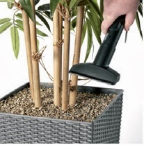 Office furniture box fake plant