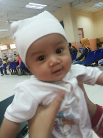 Dhia Batrisyia - 4 month