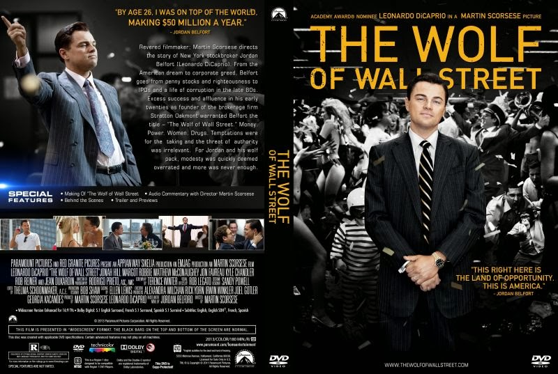 moviez Wolf Of Wall Street Movie Cover