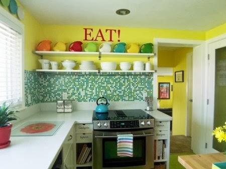 ini dia trend warna cat terbaik untuk dapur agan di tahun 2015