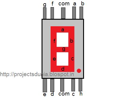 Adafruit Green 7-segment clock display - 12 digit