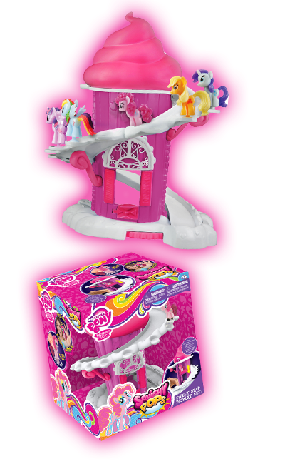Toys R Us My Little Pony Squishy Pops : Squishy Pops Sweet Shop Display Set found at TRU MLP Merch