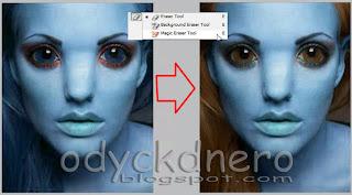 Tips Blogger Membuat Efek Avatar Dengan Photoshop