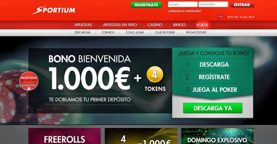 El bono del Casino de Sportium