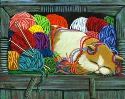Sueño de tejedora