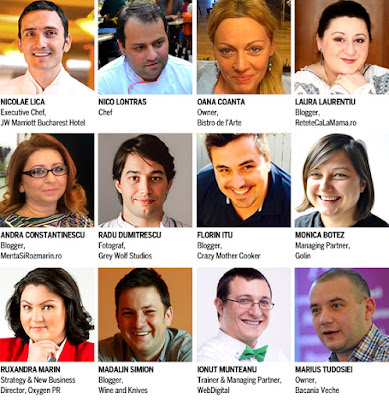 Speakerii de la Food Bloggers 2015