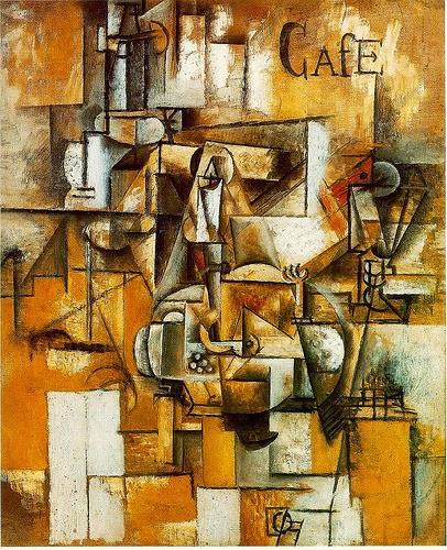 Lukisan  Le pigeon aux petits pois Karya Pablo Picasso
