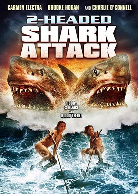 El ataque del tiburón de dos cabezas (2012) de Christopher Ray