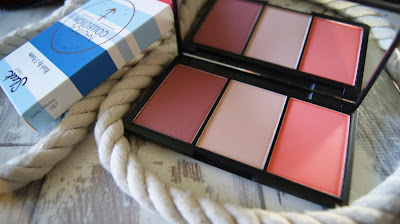 Sleek Blush By 3 palette in Santa Marina