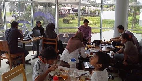 Belajar Web Google Family Blogspot di Bogor