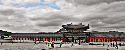 Must Visit Tourist Attraction in Seoul: Gyeongbokgung Palace | meheartsoul.blogspot.com
