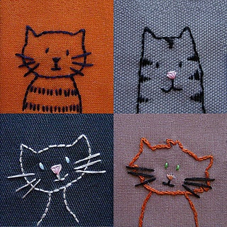http://www.pinterest.com/rousdiamantina/cats-embroidery-gatos-y-bordado/pins/
