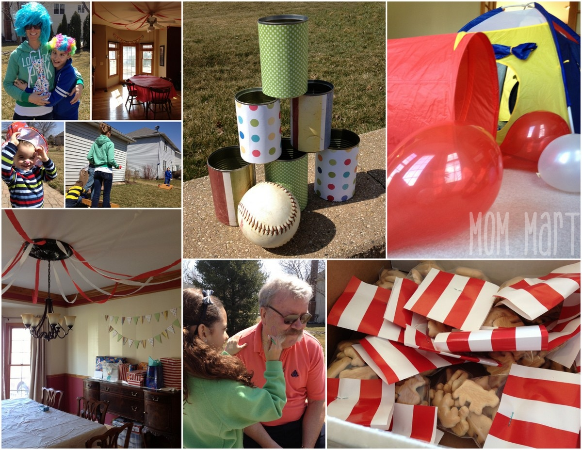 Mom mart circus themed party - Carnival theme party for adults ...