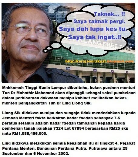 Kes Penipuan Berbillion RM: Mahathir akan dipanggil beri keterangan