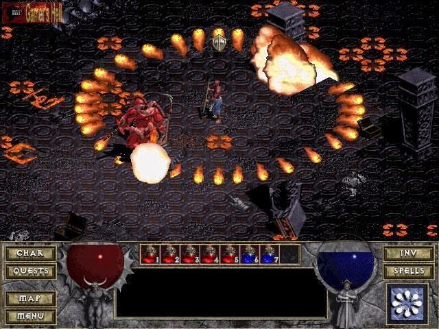 Diablo 1 PC Games Gameplay