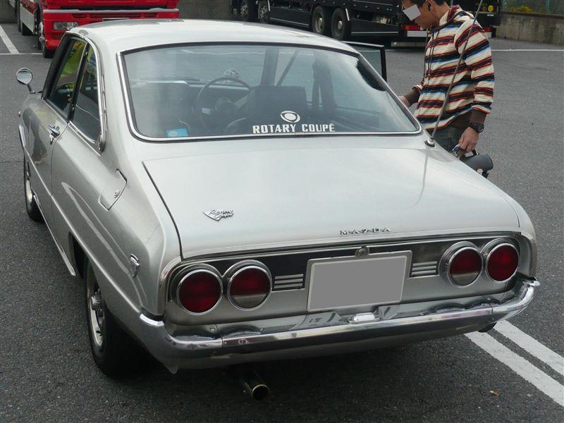 Mazda Familia Rotary Coupe, Wankel, japoński sportowy samochód, klasyczny, oldschool, nostalgic, classic, JDM, photos, zdjęcia