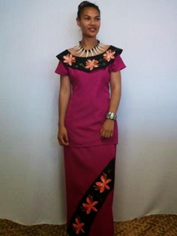 Puletasi Dress Designs