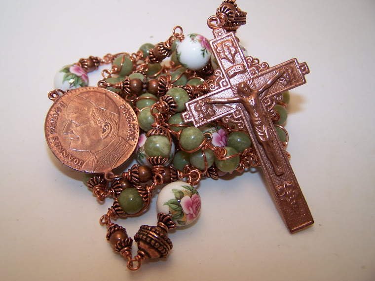 No. 118.  Rosary Of Pope John Paul II and Our Lady Of Czestochowa
