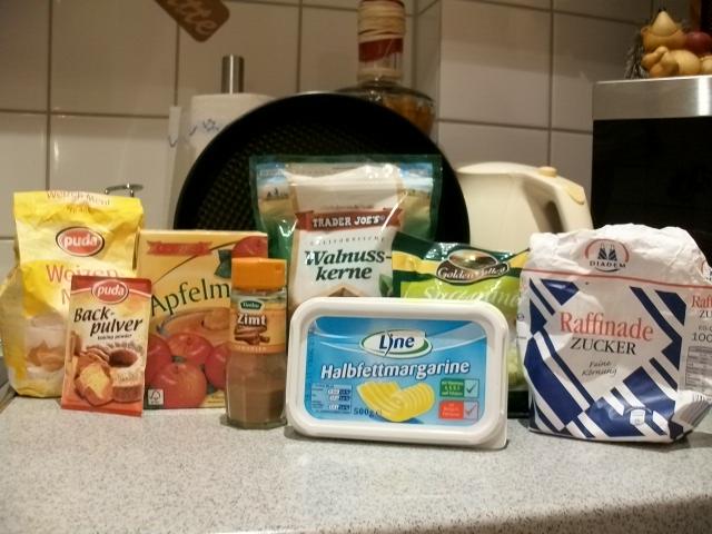 Rezept Veganer Apfelmus Kuchen My Faible