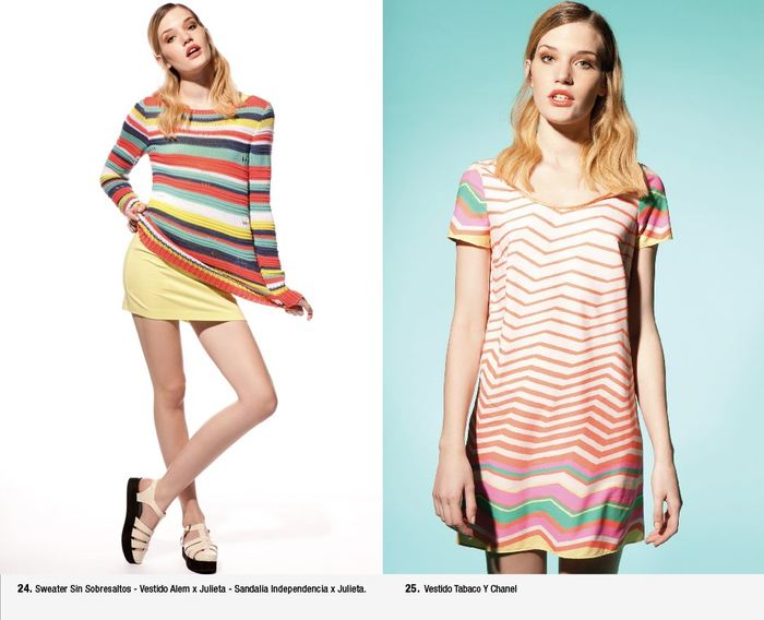 Clara+Ibarguren+ vestido+corto+verano+2013