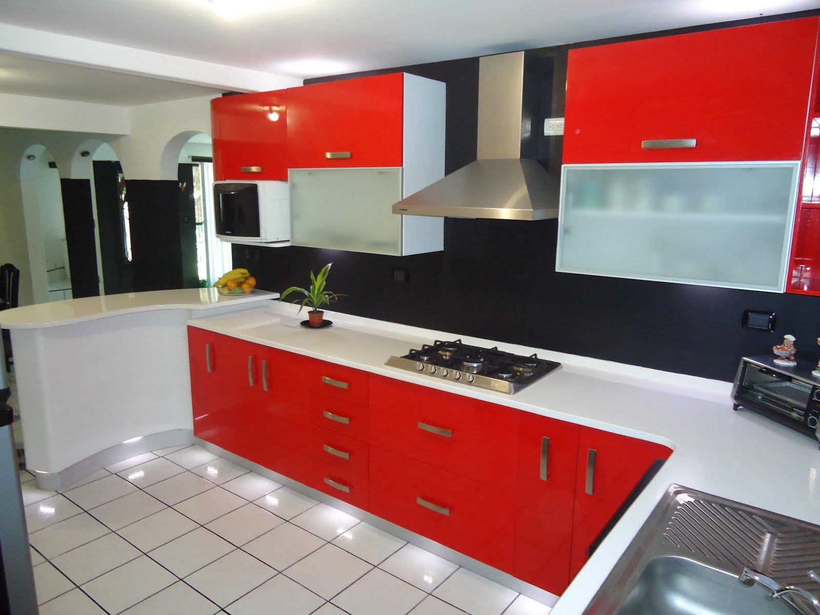 Heynez cocinas modernas diferentes colores de cocina for Cocina de creacion