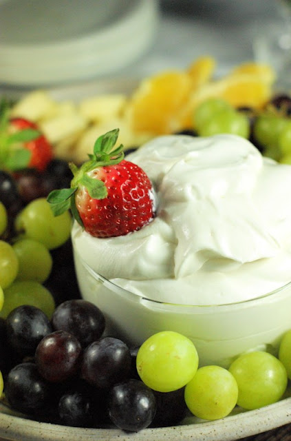 Grand Marnier &amp; Spiced Rum Fruit Dip